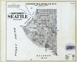 Township 25 N., Range 3 E., Seatle - Northwest, Fort Lawton, Interbay, Ballard, King County 1936